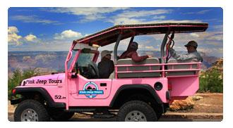 South Rim With Pink Jeep Tour Las Vegas Tour Center
